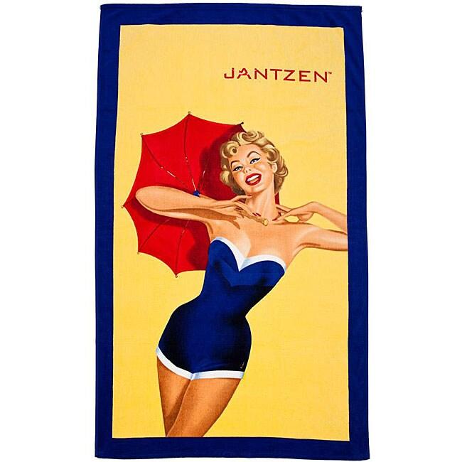 Janzten Curvallure Oversized Luxury Beach Towel