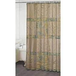 Jasmine Beige Shower Curtain