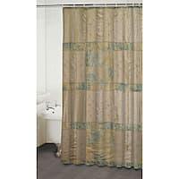 Jasmine Beige Shower Curtain