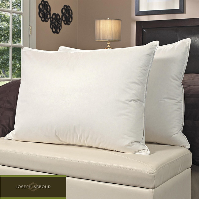 Joseph Abboud 400 Thread Count High Loft Enhanced Pillows (Set of 2)