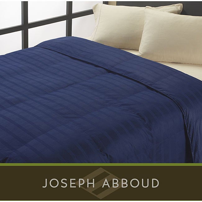Joseph Abboud Oversized 325 Thread Count Egyptian Cotton Down Alternative Comforter