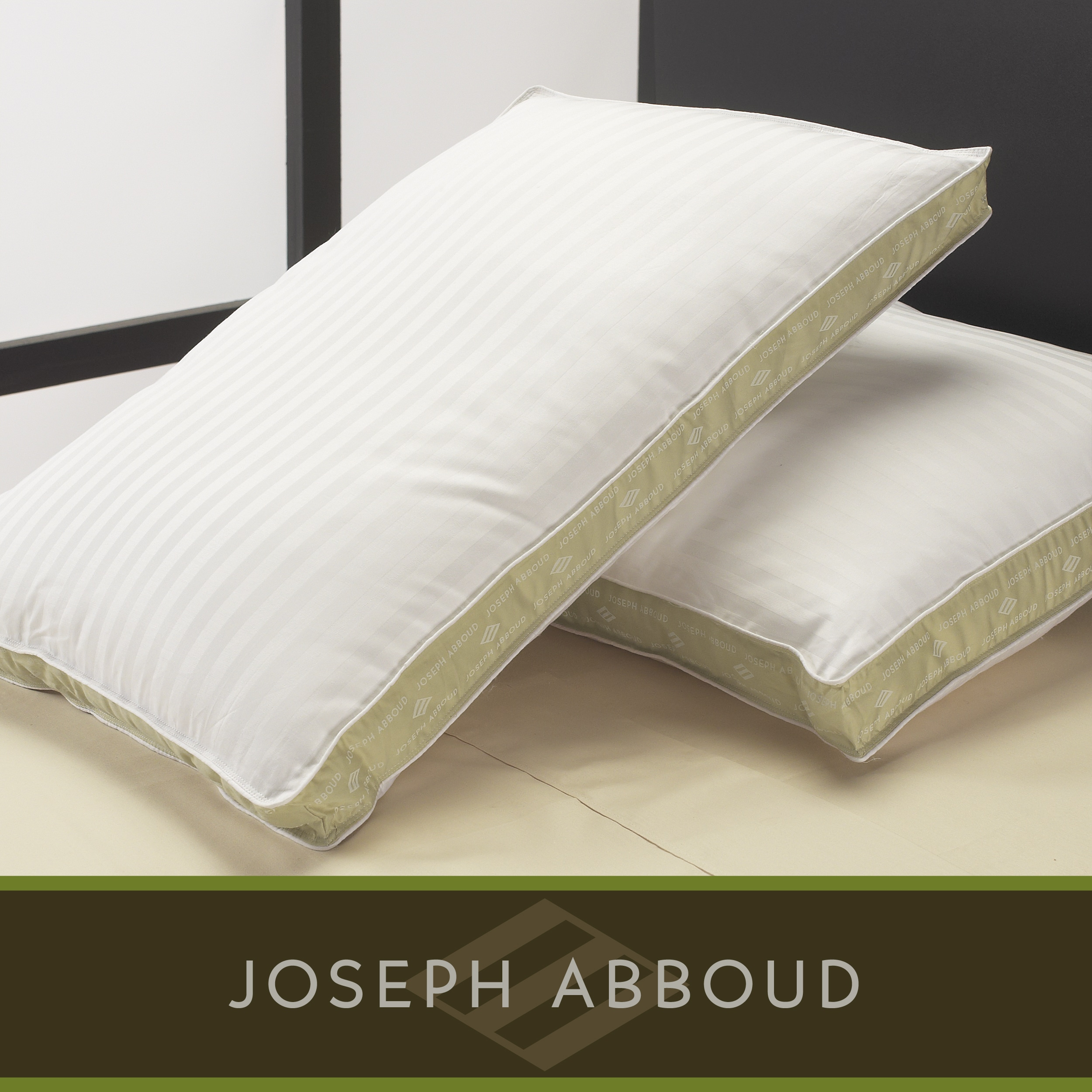Joseph Abboud Sophistication Down-like Pillows (Set of 2)
