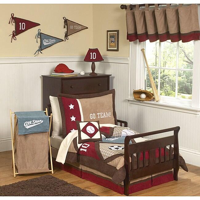 Sweet JoJo Designs All Star Sports 5-piece Toddler Boy's ...