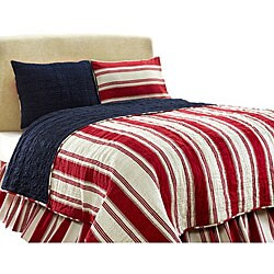 Camden Patriotic Cotton 2-piece Twin Quilt Set