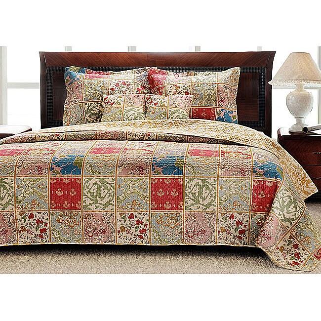 Kismet King-size 3-piece Quilt Set