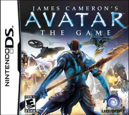 NinDS - The Avatar: The Game