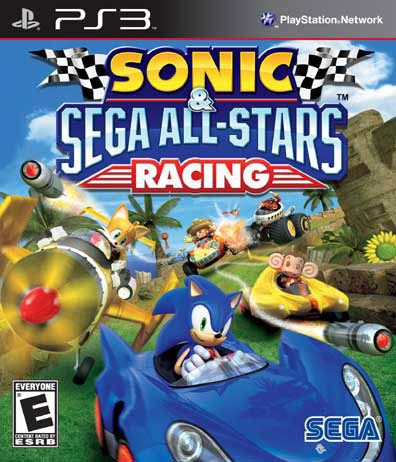PS3 - Sonic and Sega All-Star Racing