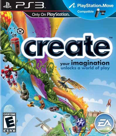 PS3 - Create - By Electronic Arts