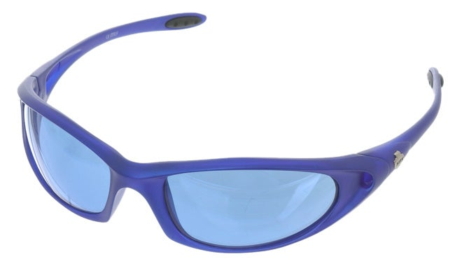455d6b786c02a Shop Spy Meteor Azure Blue w  Blue Metallic Lens Sunglasses - Free Shipping  Today - Overstock - 1622839