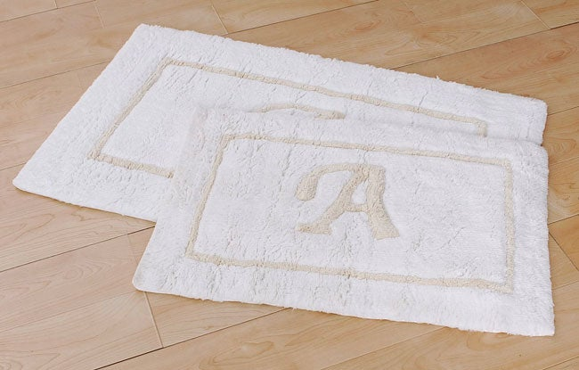 Monogrammed Rug Home Decor