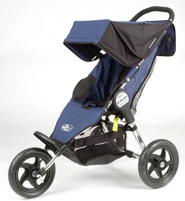 Shop Q Series Navy Single Baby Jogger Stroller Free