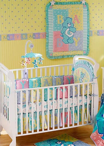 Carebear Crib Five Piece Set Free Shipping On Orders Over 45 1622863