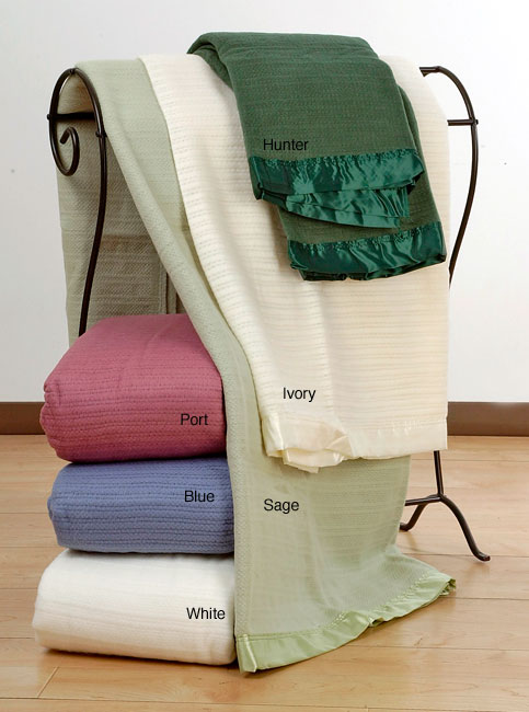 Wamsutta Acrylic Thermal Blanket (Full/White)