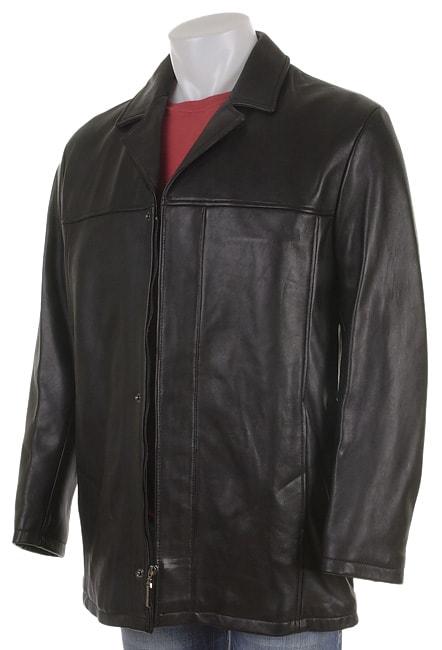 Jhane Barnes Men S 3 4 Fly Front Jacket Free Shipping