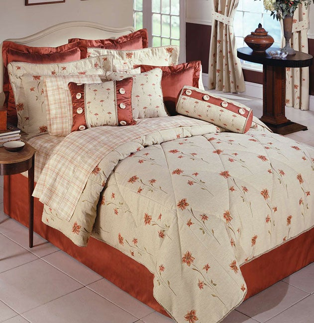 Poppy Luxury Queen Comforter Set