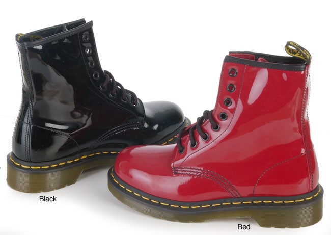 Dr. Martens Women\'s Patent Leather Boot - Free Shipping Today ...