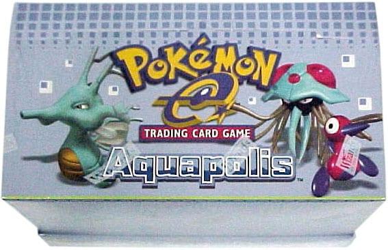 Pokemon  Ex-Aquapolis Theme Deck 8-ct Box