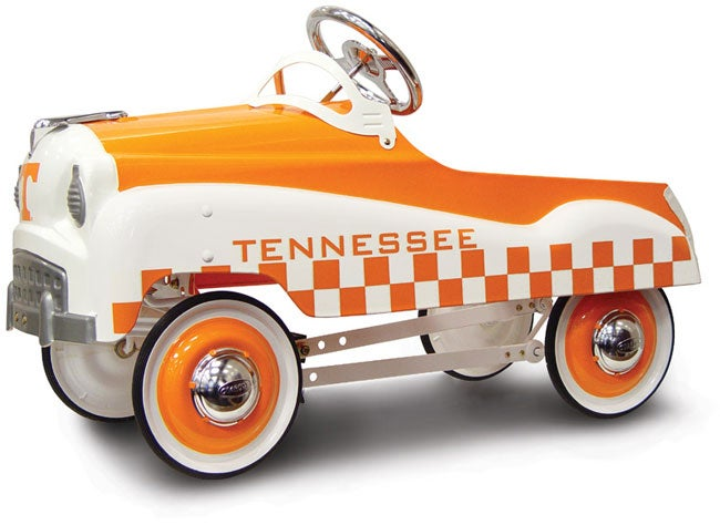 University of tennessee pedal car free shipping today for Musictown motor cars tennessee
