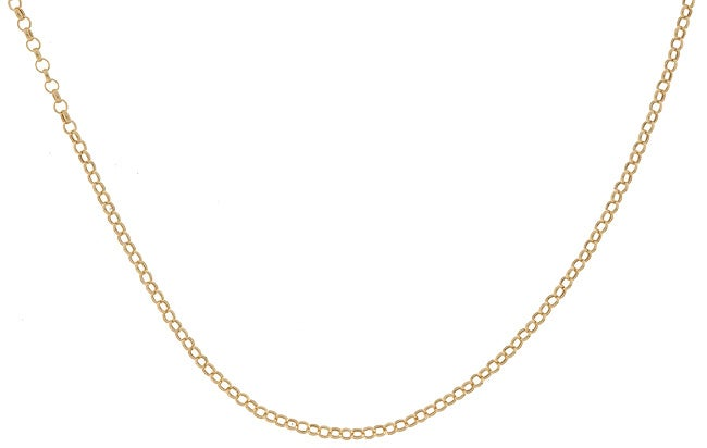 14k Yellow Gold 20-inch Rolo Chain