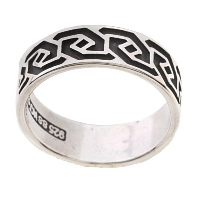 Carolina Glamour Collection Sterling Silver Celtic Wave Knot Ring