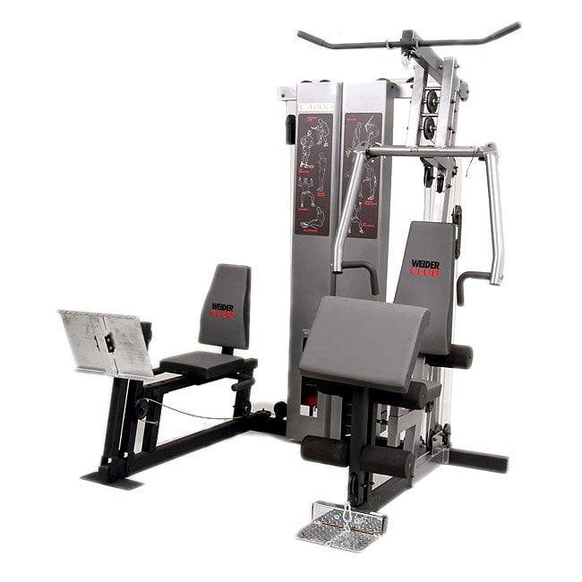 Weider 170 Weight Bench Part - 32: Nice Weider Club Bench Part - 6: Weider Club C4800 Exercise Station