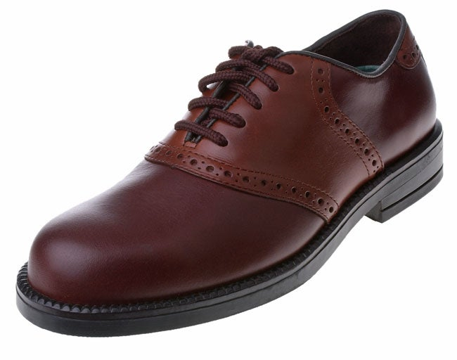 daf1bcec789b Shop Nunn Bush Men s Monroe Saddle Buck Shoe - Free Shipping Today -  Overstock - 1668578
