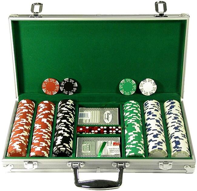 Fat cat bling 500 count 13.5 gram poker chip set