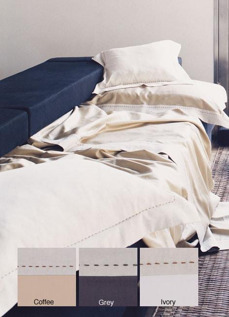 Signoria Di Firenze Tiziano 300 Thread Count Egyptian Cotton Linens (King/Coffee Duvet Cover)