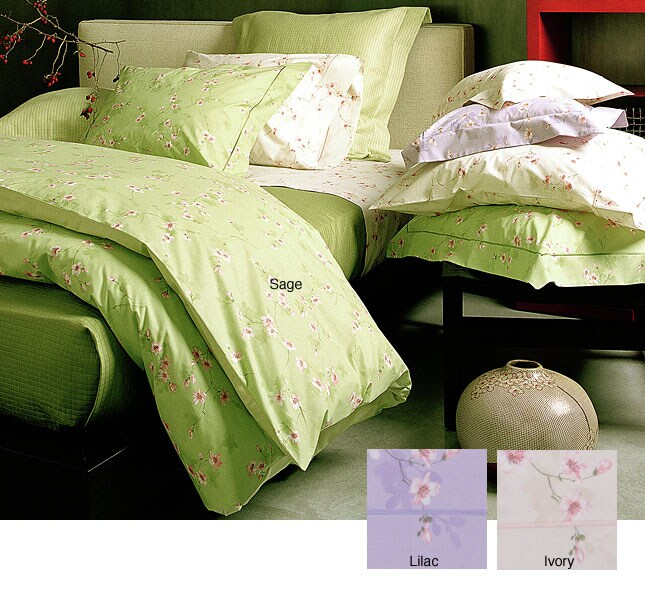 Signoria Di Firenze Laguna 300 Thread Count Egyptian Cotton Linens (King/Lilac Flat Sheet)