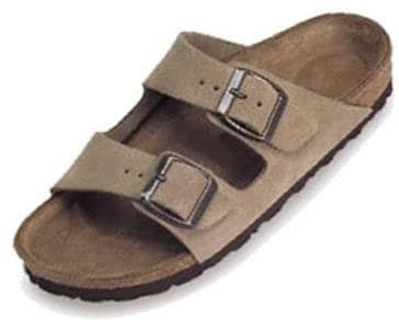 4e7f3aae4fed Shop Betula Men s Boogie Taupe Suede 2-strap Sandals - Free Shipping ...