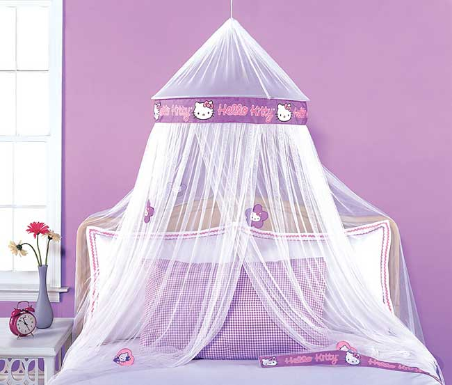 Hello kitty crib for sale - Hello Kitty Mesh Canopy Free Shipping On Orders Over 45 Overstock