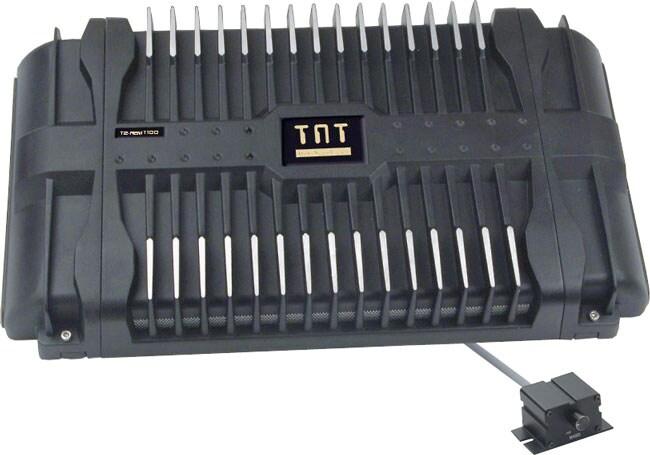 TNT 2-channel 1000-watt Mosfet Amplifier with Bass Remote
