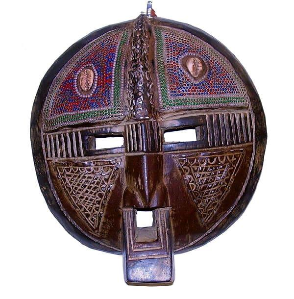 Bakota Shell Mask (Ghana)