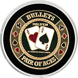 Bullets Card Cover Coin