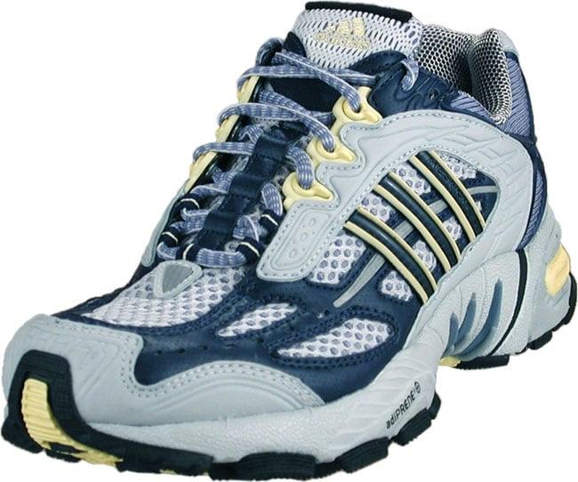 buy popular b5f6e 29ebc Shop Adidas Womens GrayNavyYellow Response TR X Running Shoes - Free  Shipping Today - Overstock - 1037468