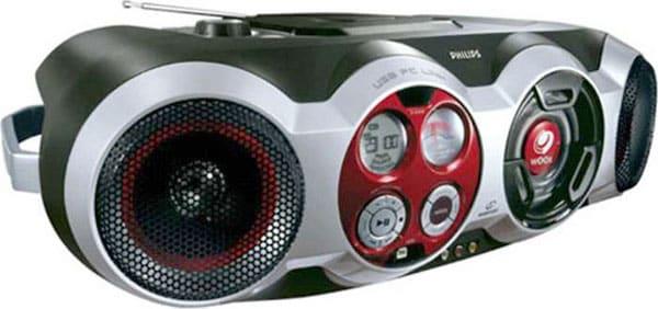 Philips AZ2555 Single-deck CD Player w/MP3 Playback (Refurbished)