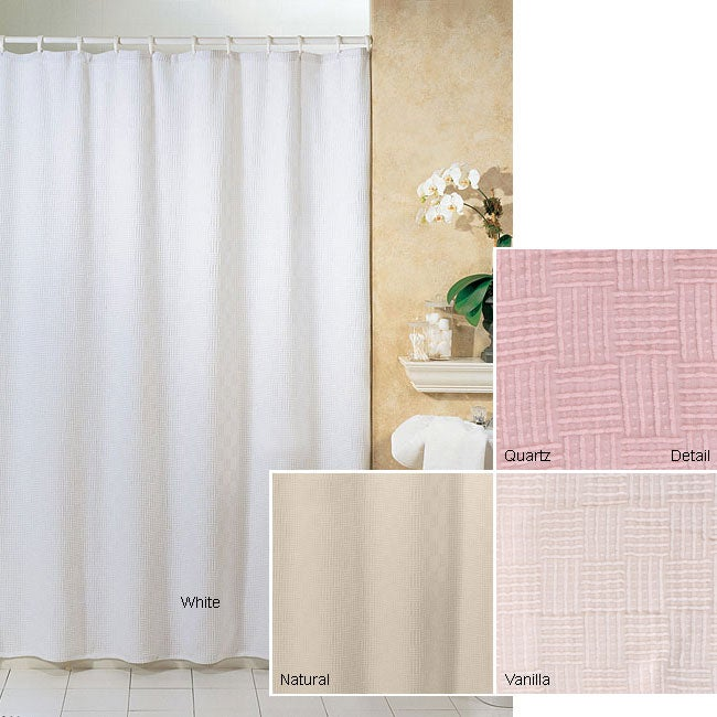 Chesterfield Cotton Chenille Shower Curtain