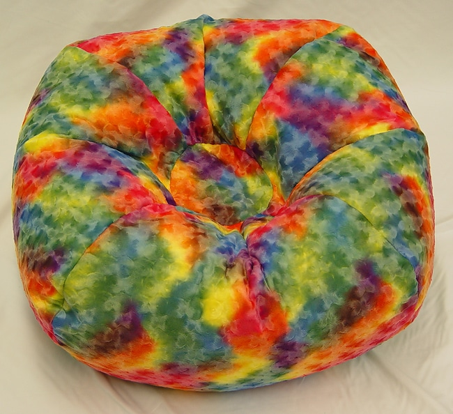 Gold Medal Furry Tie Dyed Kid X27 S Beanbag Chair