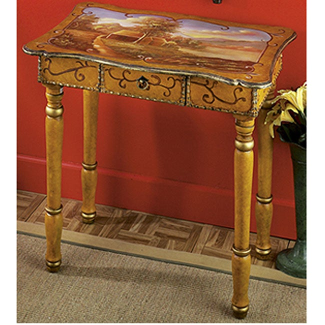 Hand Painted Writing Desk India Free Shipping Today