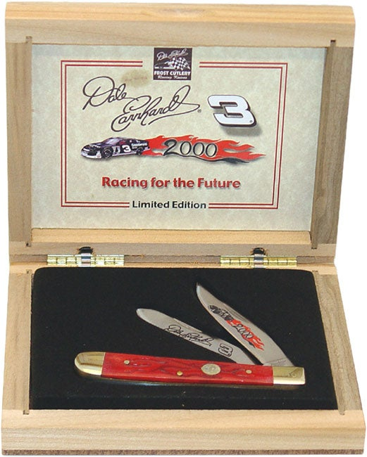 Dale Earnhardt Collectible Trapper 2000 Knife - Thumbnail 0