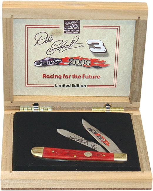 Dale Earnhardt Collectible Trapper 2000 Knife