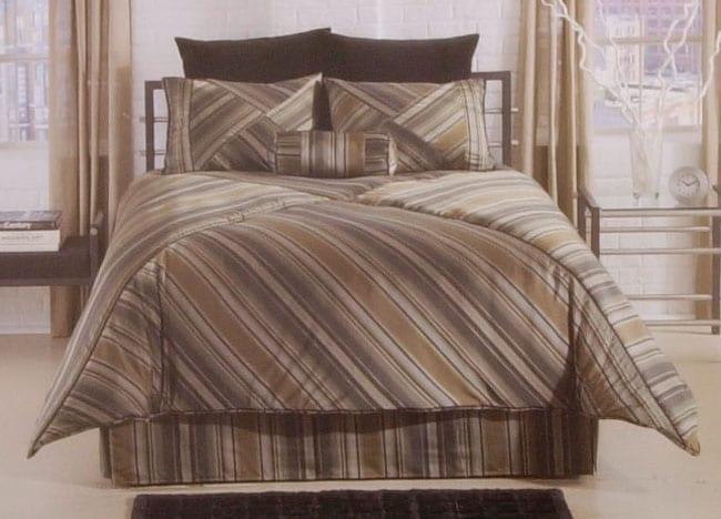 Maxim Broadway Stripe Comforter Set