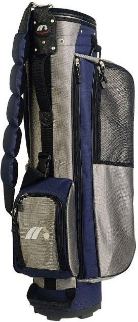 Diplomat III Men's Golf Bag - Navy/Silver
