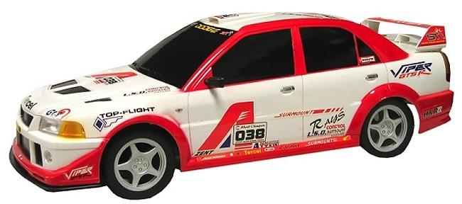 RC 1/8 Scale Mitsubishi Lancer Evo VIII Rally Car