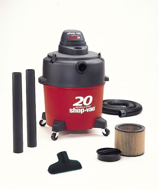 Shop Shop Vac 20 Gallon 6 0 Hp Wet Dry Vacuum Free
