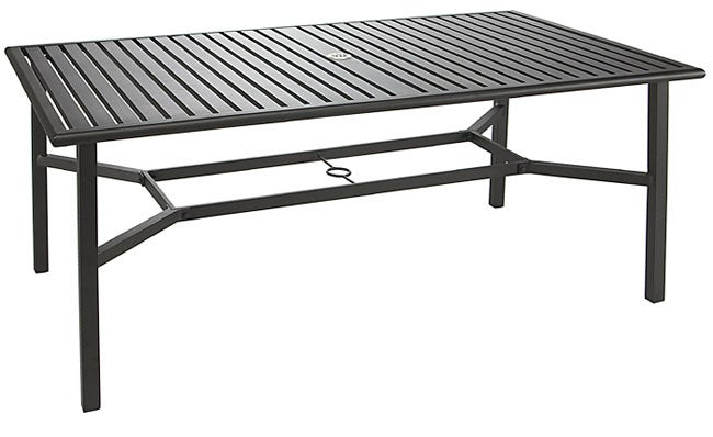 Thumbnail Calabria Rectangular Aluminum Outdoor Table