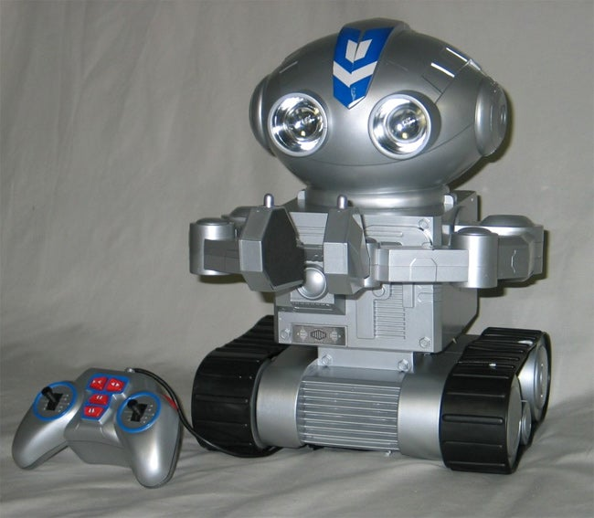 Remote Control Deluxe Roger Robot