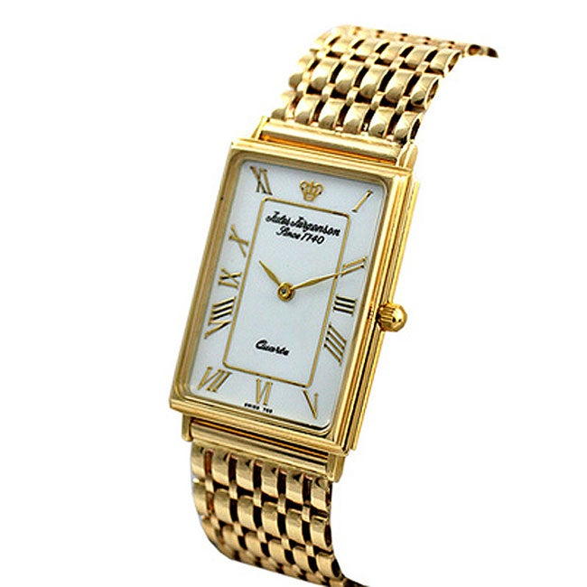 Jules Jurgensen Men S Solid 14 Kt Gold Watch Free