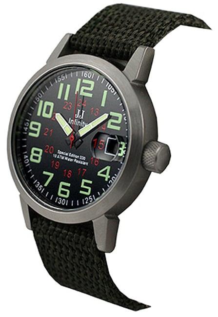 Jules Jurgensen Men S Military Time Strap Watch Free