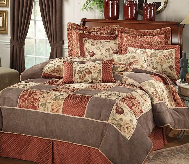 Calais Luxury Comforter Set (Twin or Full)